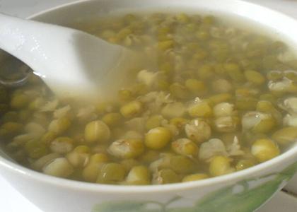 綠豆湯的功效