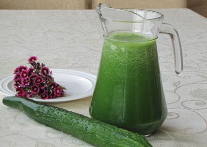黃瓜汁清熱解暑