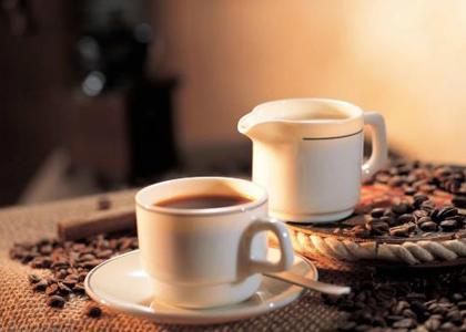 早上喝咖啡