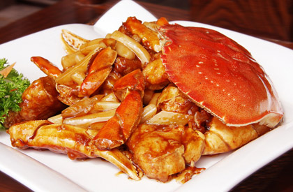 戒盲目吃蟹