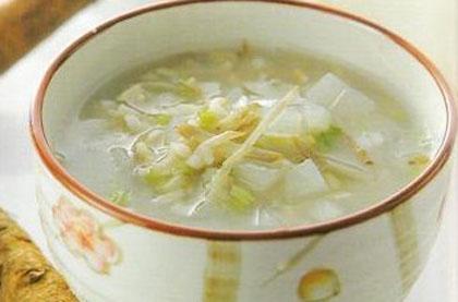 白果蘿蔔粥