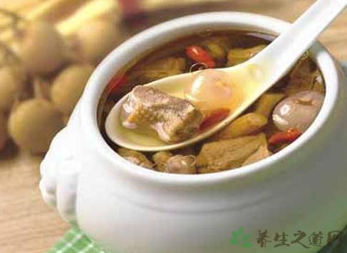 雙參豬瘦肉美昧湯
