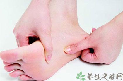 腳底按摩的手法