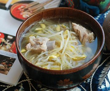 排骨豆芽湯
