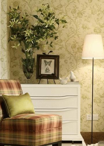 歐式風格壁紙裝修案例 壁紙圖片欣賞