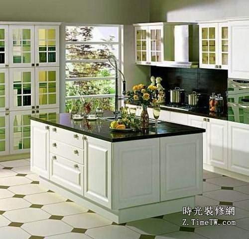 開放式廚房空間搭配   開放式廚房的裝修要點