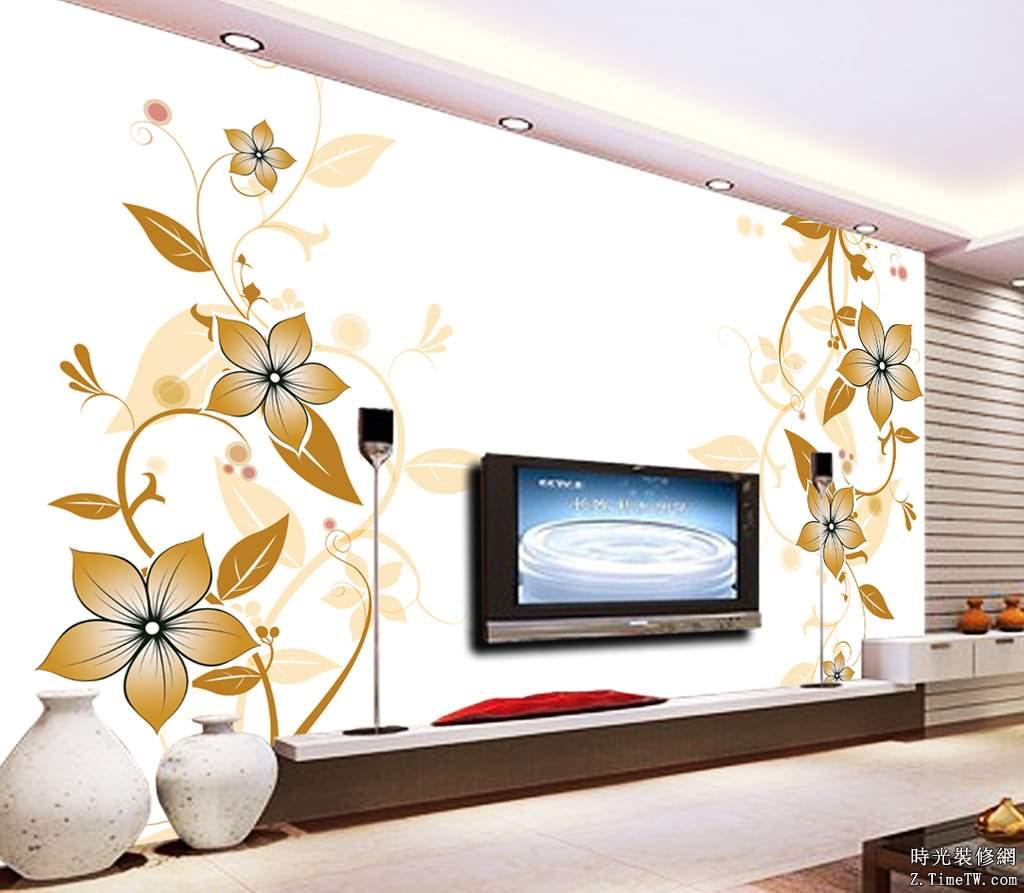 簡單介紹什麼是手繪電視背景牆