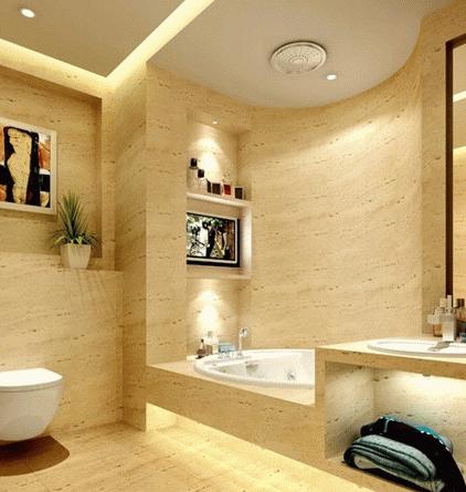 瓷磚裝修衛浴地板牆面讓衛生間美起來