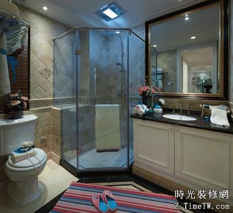 衛浴間功能區域劃分 合理裝修衛浴間