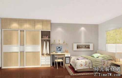 臥室衣櫃擺放位置設計  衣櫃放置