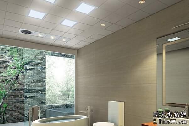 衛生間吸頂燈防潮方法 裝修知識