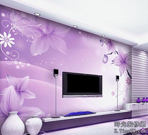 電視背景牆牆紙選購需要注意的細節詳解