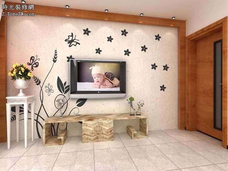 裝修設計之電視背景牆設計