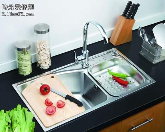 室內廚房裝修水槽的尺寸介紹 水槽的安裝方法介紹