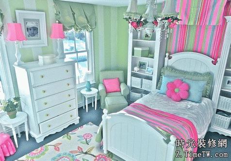孩子的美妙世界 兒童房的設計與裝修技巧
