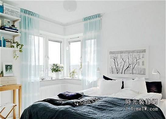 優雅的精緻  小戶型臥室空間變大