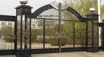 鐵藝大門的起源和好處