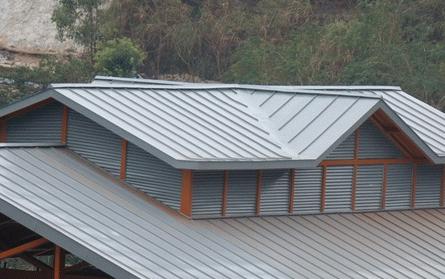 金屬屋面的材料和質量要點