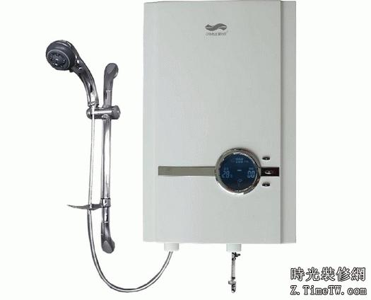 即熱式與儲水式電熱水器安裝方法