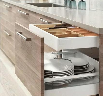 櫥櫃內部設計結構與設計效果圖欣賞