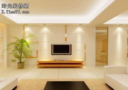 客廳電視牆的設計要點和注意事項