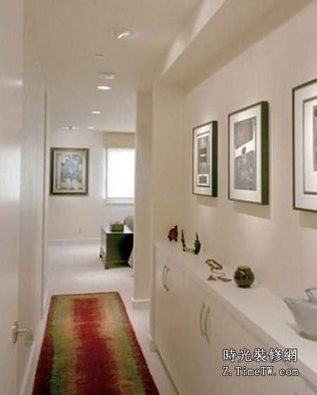 走廊收納櫃設計效果圖賞析