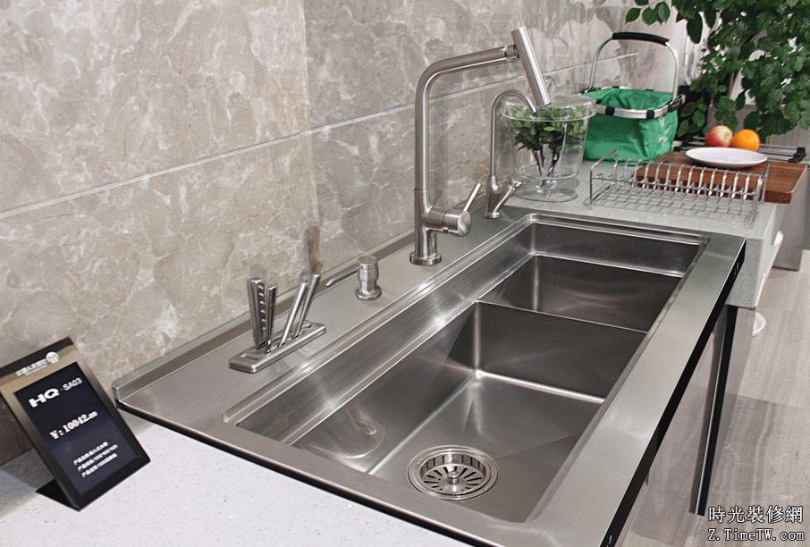洗出健康之廚房水槽安裝