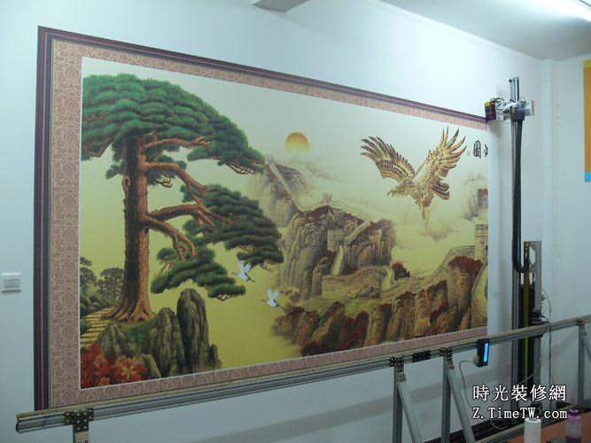 牆體彩繪與牆體彩繪機介紹
