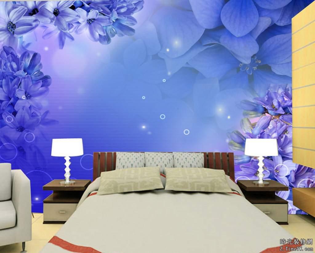 臥室背景牆的主題風格