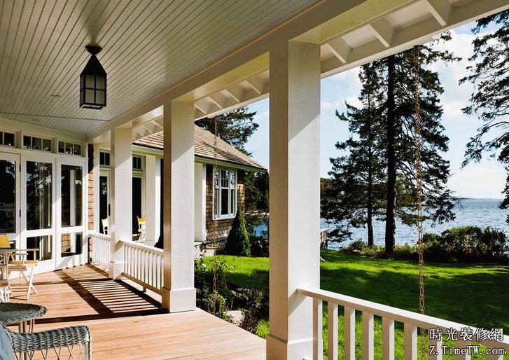 露台庭院設計裝修要點及方法