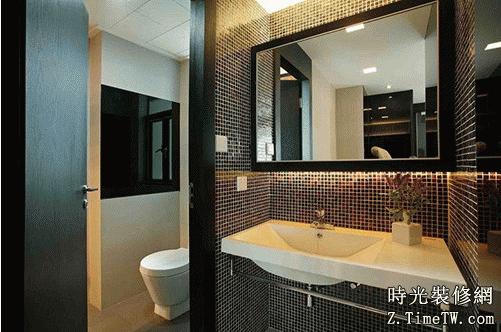 洗手間裝修中應注意的鏡子擺放禁忌