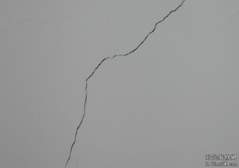 牆面開裂分類與補救方法簡介