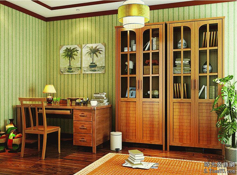 小戶型也可以打造精緻書房