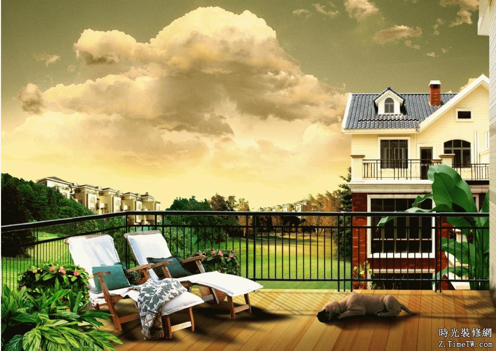 選購優質板材讓露台花園更美麗