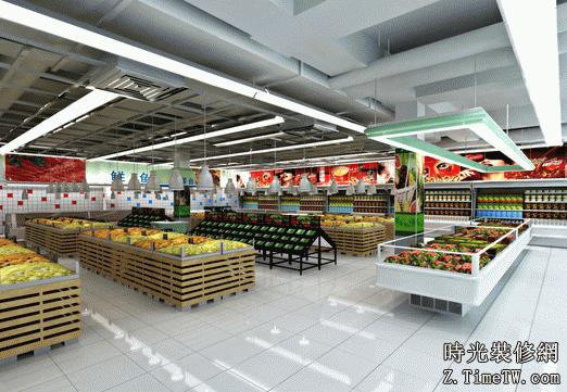 給大家介紹超市裝修要點