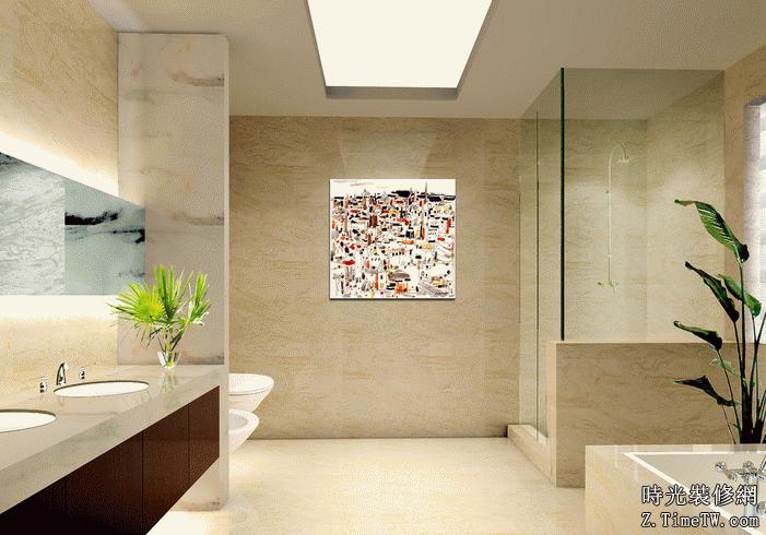 衛生間瓷磚的鋪貼技巧
