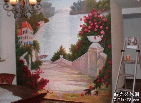 什麼是歐式手繪牆 手繪牆繪畫步驟