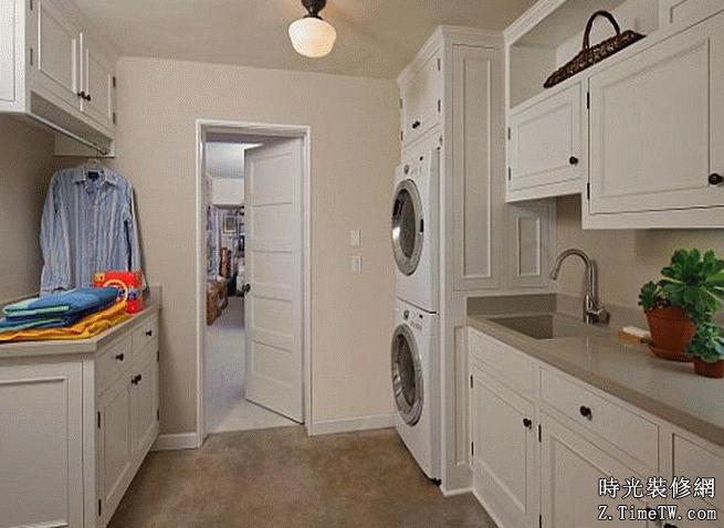 家庭洗衣房裝修設計攻略