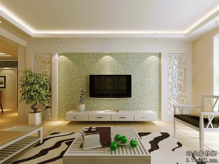 打造完美電視背景牆 各種材料大PK