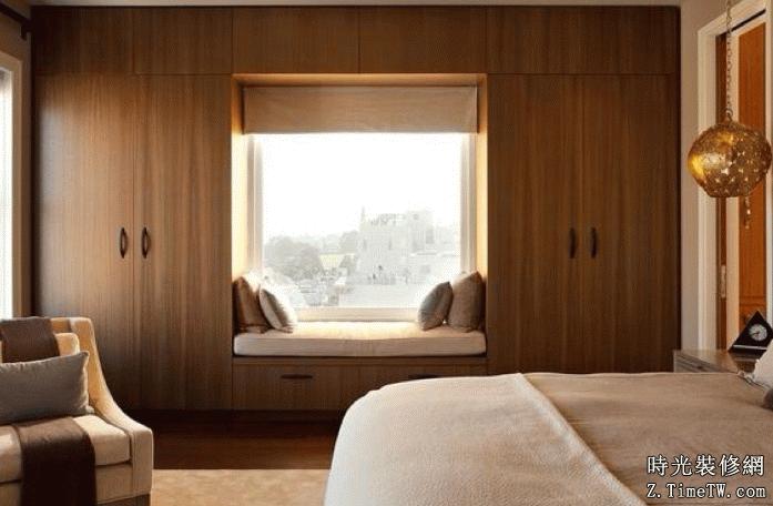 飄窗的設計原則 讓窗簾更加有意思