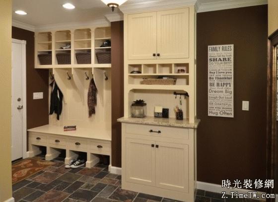 玄關鞋櫃設計 家的第一道風景