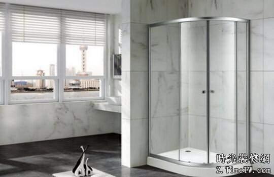 浴室隔斷門搭配技巧 學會這幾招就夠了