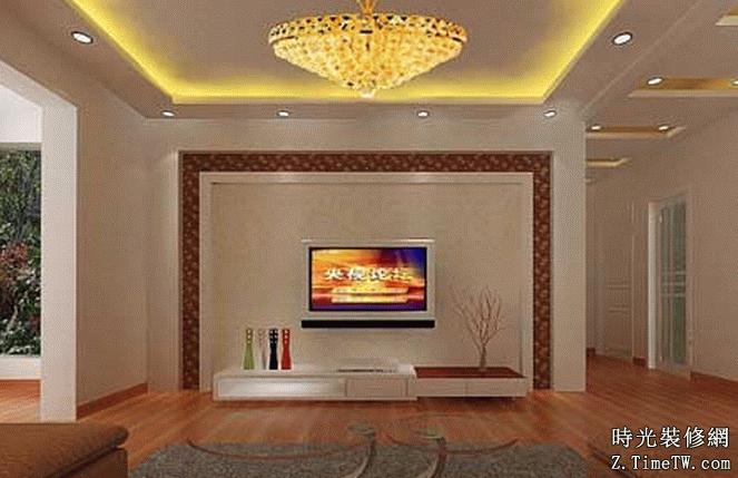 最新客廳電視背景牆裝修詳解