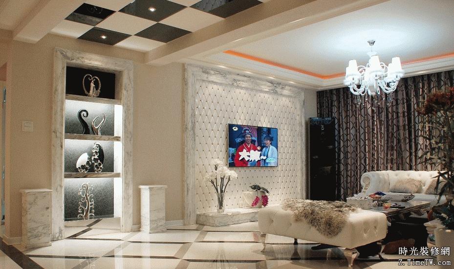 最新客廳背景牆裝飾設計技巧