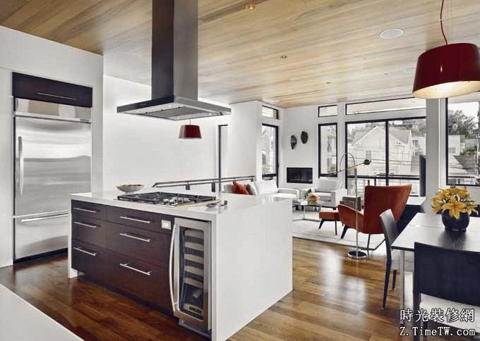 開放式廚房設計 值得你擁有