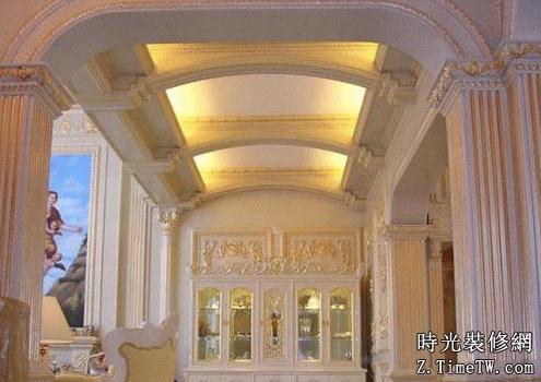 歐式風格影樓裝修設計要點