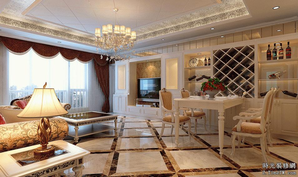 歐式風格家裝 歐式風格牆面裝飾方法