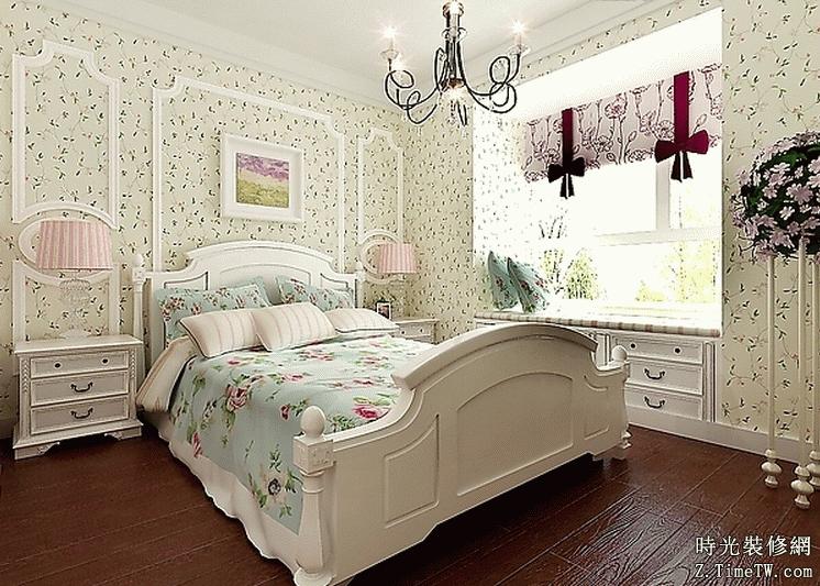 田園風格臥室佈置 讓你回歸自然