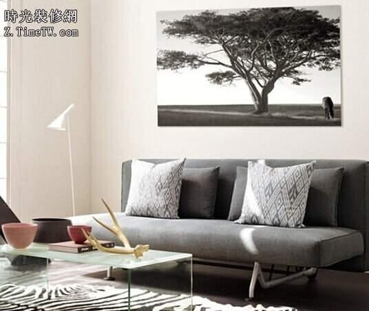 一「畫」一世界  創意的客廳裝飾畫