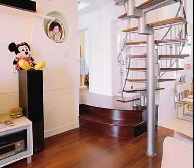 都市白領最愛的兩房一廳小複式裝修案例
